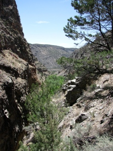 To get away from The Hill for a respite, Manhattan Project scientists would take a short drive to Bandelier National Monument to hike in the Jemez Mountains.