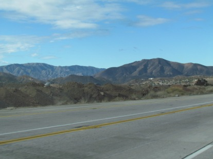 The drive from Orange to Palmdale takes about two hours, depending on traffic, and it's a gorgeous meandering through the mountains.