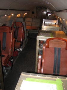 NASA's Gulfstream-III Cabin with Science Equipment